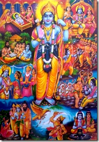 Events of Rama's life