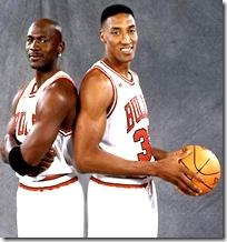 Pippen and Jordan