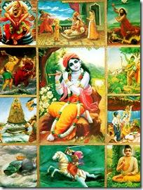Krishna incarnations