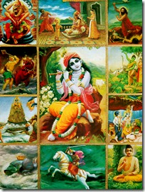 Krishna and His incarnations