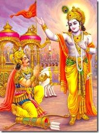 Krishna with Arjuna