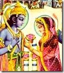 Sita and Rama wedding