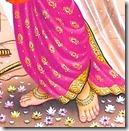 Sita Devi's lotus feet