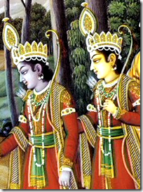 Lakshmana and Rama