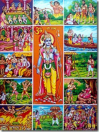 Events from the Ramayana