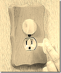 Baby proofing a socket