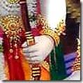 Lakshmana holding his bow