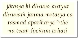 Bhagavad-gita, 2.27