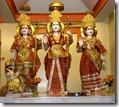 Rama Darbar in a temple