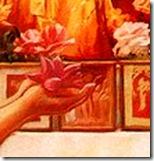 Offering to Krishna