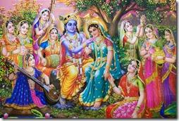 Fun in Krishna's planet