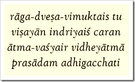 Bhagavad-gita, 2.64