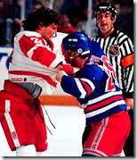 Bob Probert - Tie Domi fight
