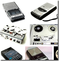 [Tape recorders]