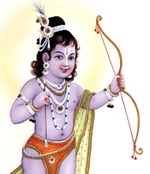 [Lord Rama as child]