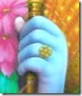 [Lord Rama's hand]