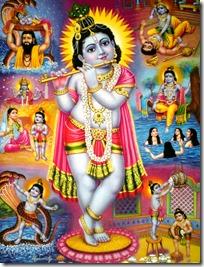 [Krishna's pastimes]