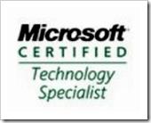 [Microsoft certification]
