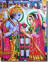 [Sita and Rama's marriage]