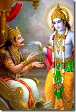 [Krishna speaking to Arjuna]