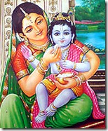 [Krishna with mother Yashoda]