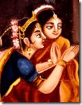 [Rohini and Yashoda]
