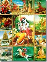 [Krishna's incarnations]