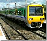 [train travelling]
