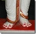 [Rama's lotus feet]