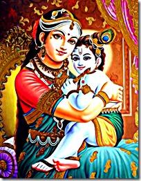 [Krishna with Yashoda]