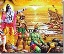 [Rama with Vanaras]