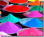 [Holi colors]