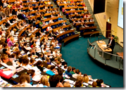 [large lecture hall]