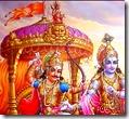 [Hanuman flag on Arjuna's chariot]