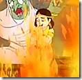 [Prahlada put in fire]