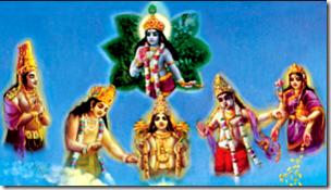 [Demigods with Krishna]