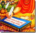 [Valmiki writing Ramayana]
