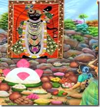 [Govardhana offerings]