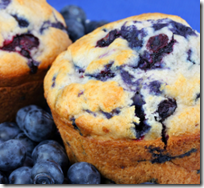 [blueberry muffins]