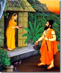 [Ravana visiting in false guise]