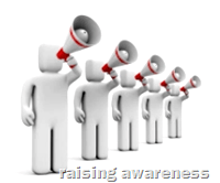 [raising awareness]