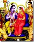 [Sita-Rama on Pushpaka]