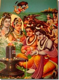 [Worshiping Mahadeva]