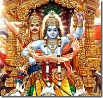 [Krishna-Arjuna chariot]