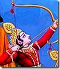 [Rama firing arrow]