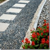[pebbles walkway]