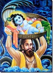 [Vasudeva and Krishna]