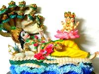 [Vishnu resting]