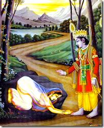 Rama and Ahalya