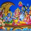 Vishnu in Vaikuntha